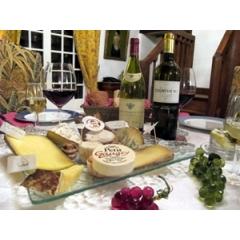 Cena en casa de un parisino