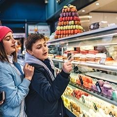 Balades gourmandes à Paris