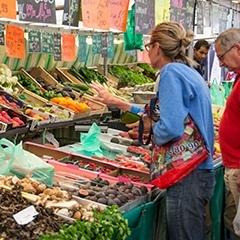 Visites des marchés de Paris