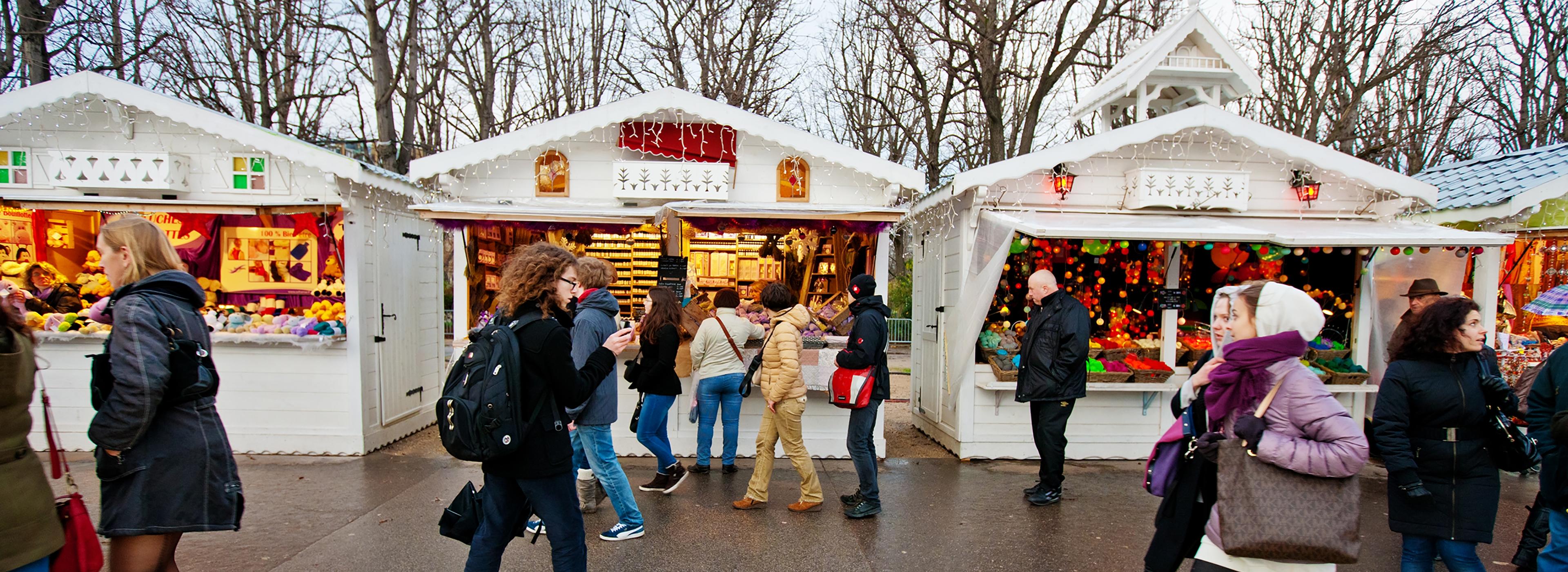 Visite guidée des marchés de Noël à Paris