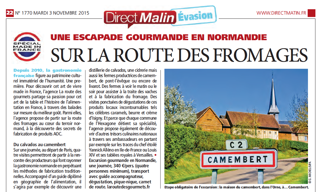 Direct Matin Edition du 3 Novembre 2015