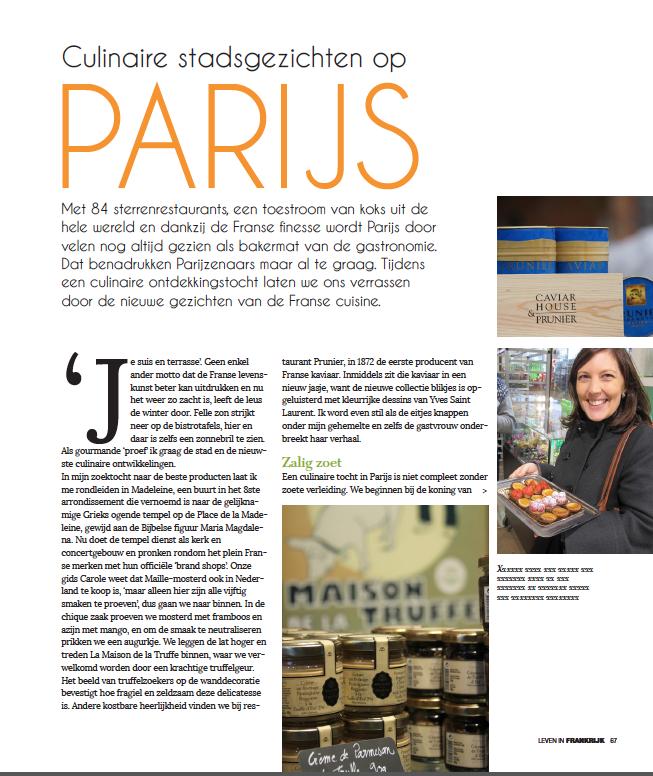 Leven in Frankrijk.nl magazine Fevrier 2016