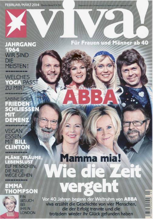 Magazine Allemand Viva Mars 2014