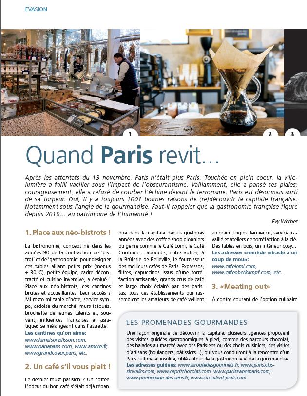 Magazine Semper Luxembourg Fevrier 2016