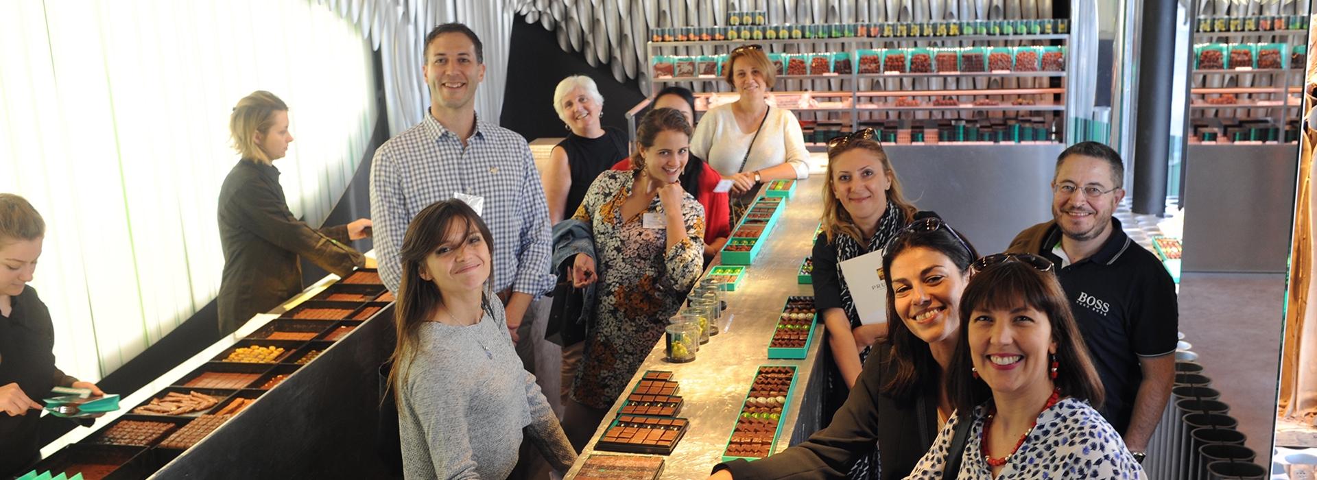 Team building gastronómico en Paris